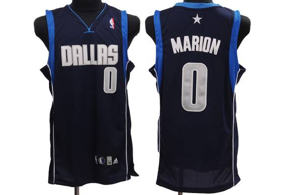 Mavericks #0 Shawn Marion Stitched NBA Blue Jersey